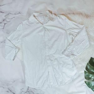 Calvin Klein slim fit white button down